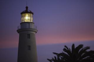 Lighthouse Punta del Este - Pink-Blue Hour | 090503-1752-jikatu | by jikatu