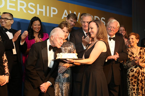 Atlantic Council International Advisory Board Chairman General Brent Scowcroft celebrates his 90th birthday.