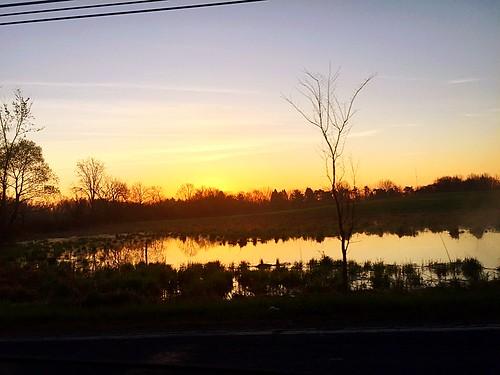 reflection sunrise brimfield