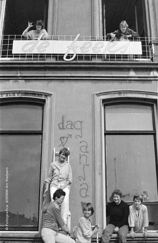1983 De Feeks vdc kraakpand Anthoniusplaats 1