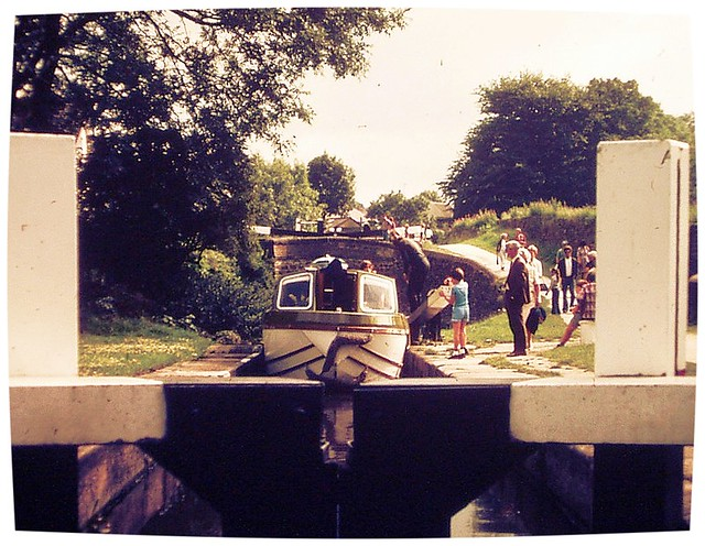 Gongoozling - Marple Locks