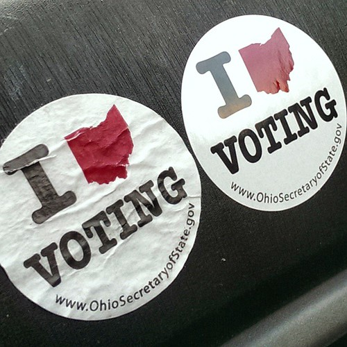 May 5, 2015 (Instagram) - I Ohio Voting