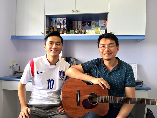 Guitar lessons Singapore August