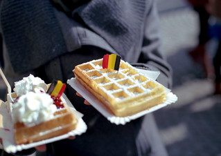 Brussels waffles | by Ramon van 't Loo