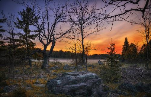 morning sky sun color nature rock fog sunrise dark landscape nikon dream foggy mystic d7000 dtailvision