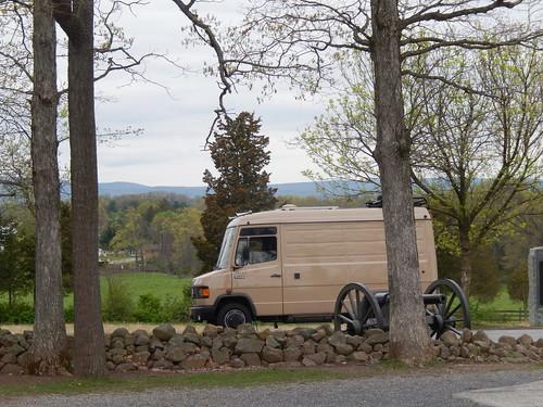Gettysburg - battlefield tour - 1