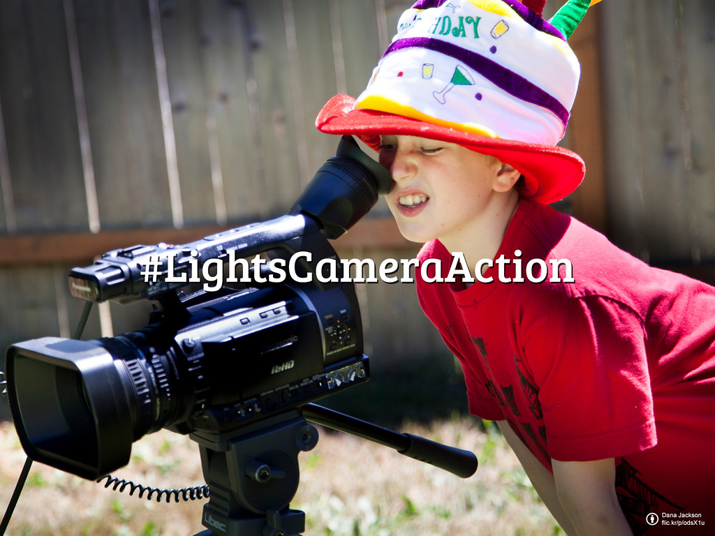 Flickr Friday: #LightsCameraAction