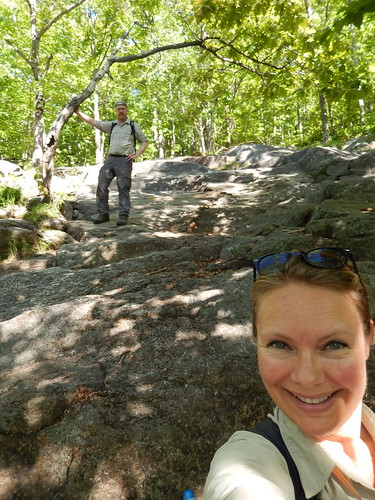 Monadnock State Park - summit hike - 2
