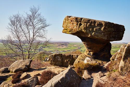 countryside rocks view natural yorkshire rockformations brimhamrocks