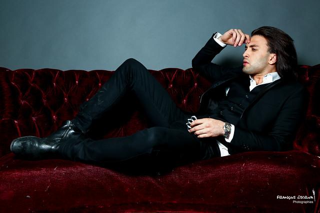 Adrien - On the Sofa