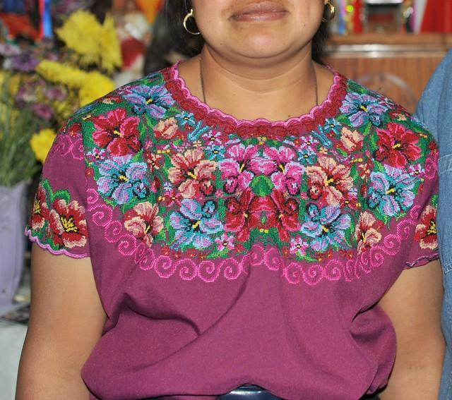 Huipil Maya Chiapas Mexico