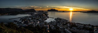 Sunset in Ålesund - Norway - Landscape photography | by Giuseppe Milo (www.pixael.com)
