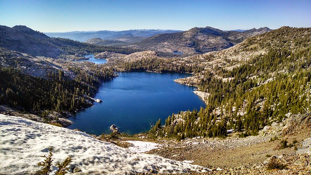 Dicks Lake . Pacific Crest Trail