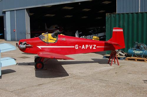 G-APVZ Rollason D.31 Turbulent [PFA 545]