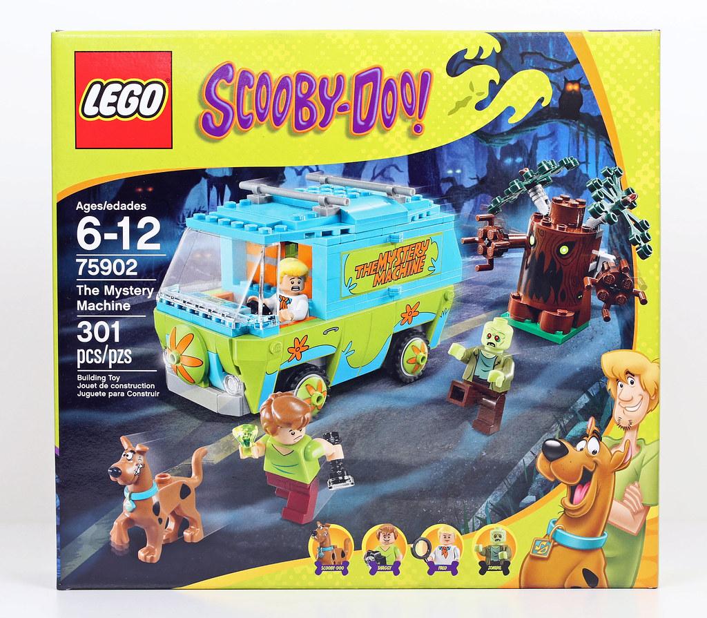 75092 ReviewLego Mystery Scooby MachineBrickknight Doo The qA354jLcR
