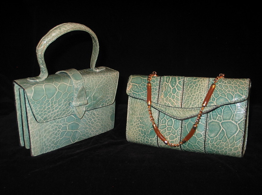 the latest 2d9af c841f Borse vintage in rettile anni 50-60 Italian Vintage purses ...