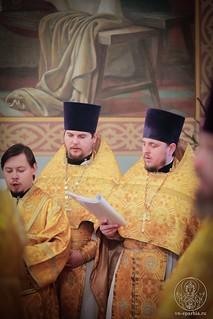 Литургия в Покровском соборе 148