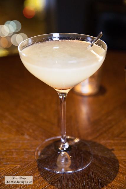 Corpse Reviver #2 - Citadelle gin, orange curaco, Cocchi Americano, lemon