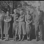 b031_10a REED, Ralph Franklin; DIAL, Edith Carman (Reed); REED, John Madison Grampy; REED, Effie (Holt) Wally; HICKS, Flossie Doris (Reed); REED, John Holt