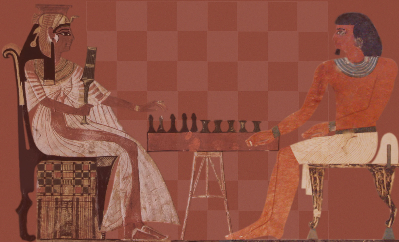 Senet - Lujoso sistema de objetos lúdicos obsequio del dios Toht a la faraona Nefertari