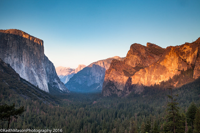 Yosemite Tunnel View - Redux