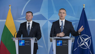 Visit to NATO by the Prime Minister of the Republic of Lithuania | by NATO