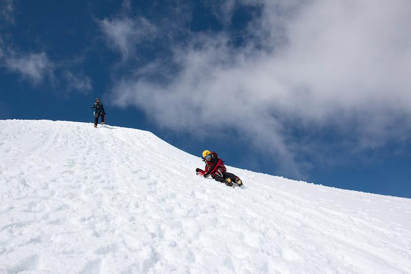 木曽駒ヶ岳 雪山登山