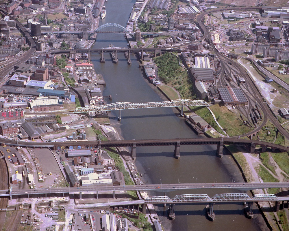 Bridges across the River Tyne
