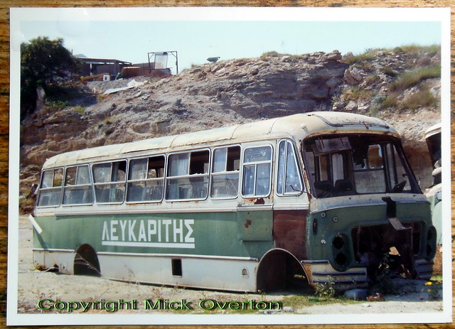 Lefkaritis scrap bus body seen Cyprus 31.03.1994