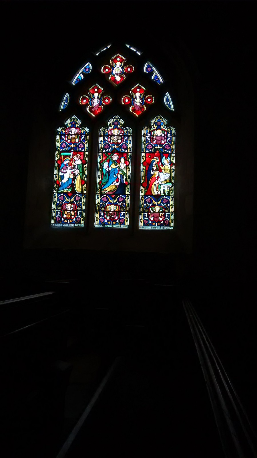 Buriton Church South Window