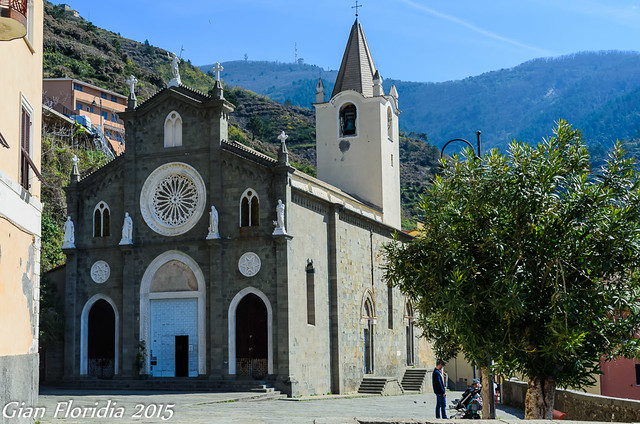 Riomaggiore: Chiesa di S. Giovanni Battista