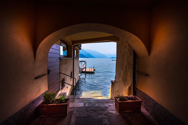 Special view to lago di como from Varenna - Italia