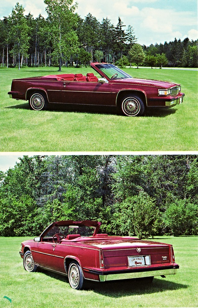 1986 cadillac coupe deville convertible a photo on flickriver flickriver