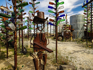 Elmer's Bottle Tree Ranch | by nadine3112