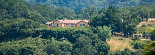 california ca trees house mountain window us afternoon view unitedstates outdoor sanjose vegetation santacruzmountains losgatos