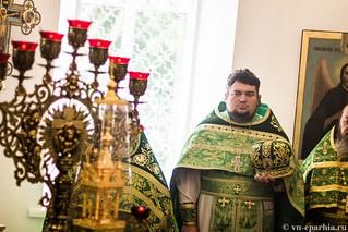 Божественная Литургия в д.Леохново 430