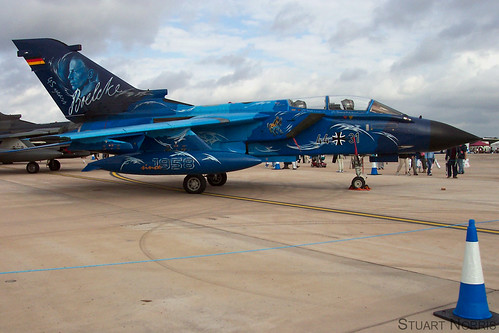 "Tornado 44+31 ""Blue Lightning"" RIAT 2003   by stu norris"