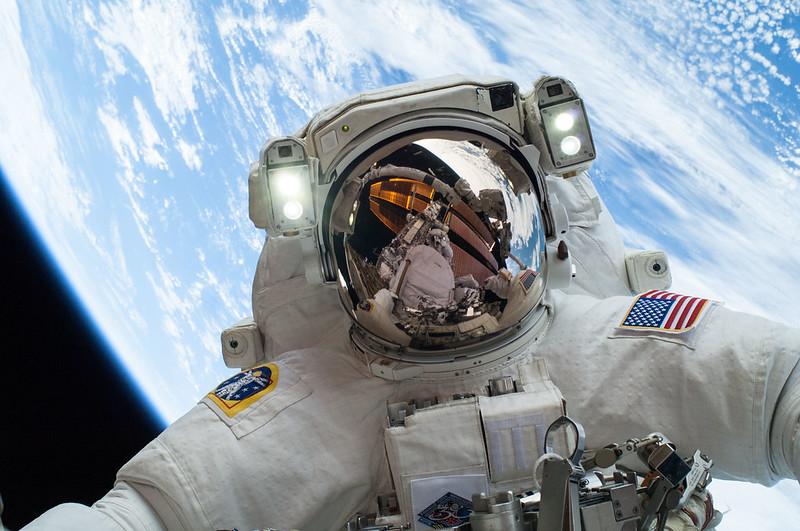 NASA Astronaut Earth Helmet