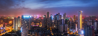 Chengdu skyline | by 乐让菲力