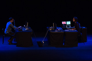 'Composition #1 for PIGS (Percussive Image Gestural System)' Amy Alexander, Curt Miller @ NIME 2016 | by johnrobertferguson