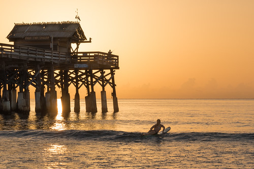 brevardlife cocoabeach sunrise beach chuckpalmer girl surfing 100v10f topf25 fav30 outdoor travel