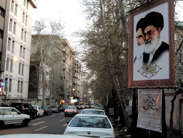 Khomeini is inescapable by bryandkeith on flickr