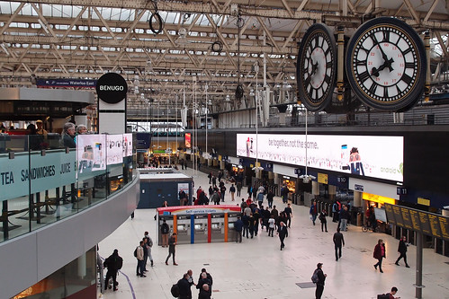 London Waterloo Station 2015 | by pix42day