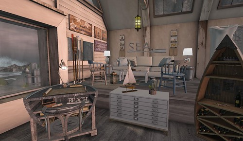Seaside Living | by Hidden Gems in Second Life (Interior Designer)