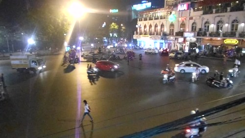 Video - Hanoi - Junction in Old Quartier