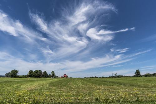 vergennes vermont sky field