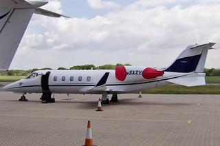 G-SXTY Learjet 60 SN 60-280 EGHI 21-05-2015