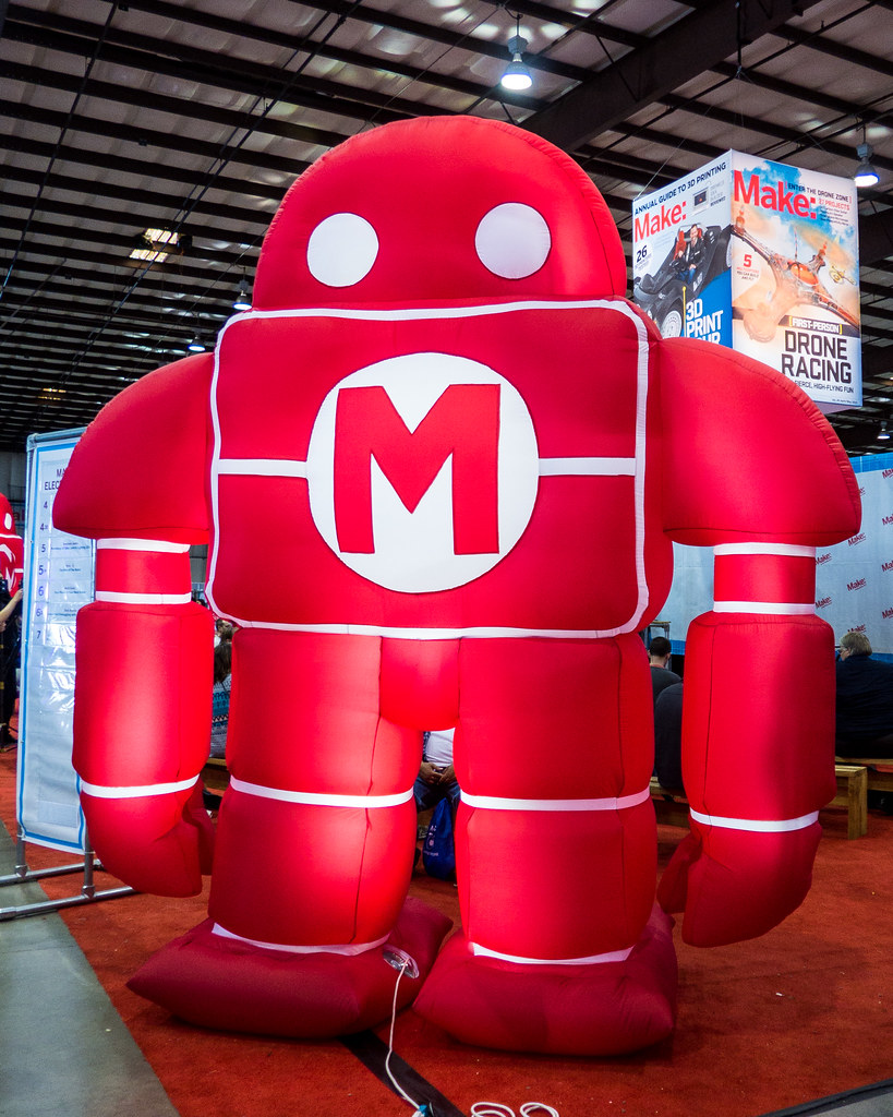 And what Maker Faire would be complete without the big red