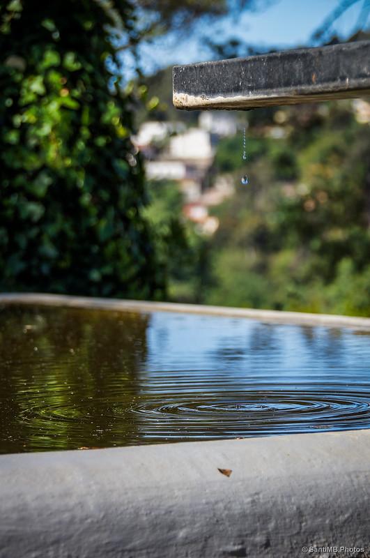 Agua en suspensión