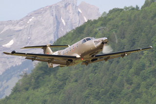Pilatus PC-12, HB-FRL, Jet Fly